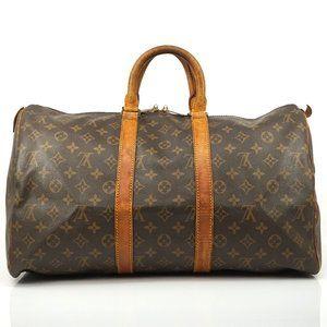 Auth Louis Vuitton Keepall 45 Travel Bag #1346L20